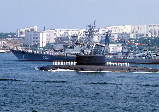 Russian Black Sea Fleet in Sevastopol