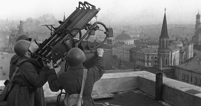 Canonniers antiaériens soviétiques
