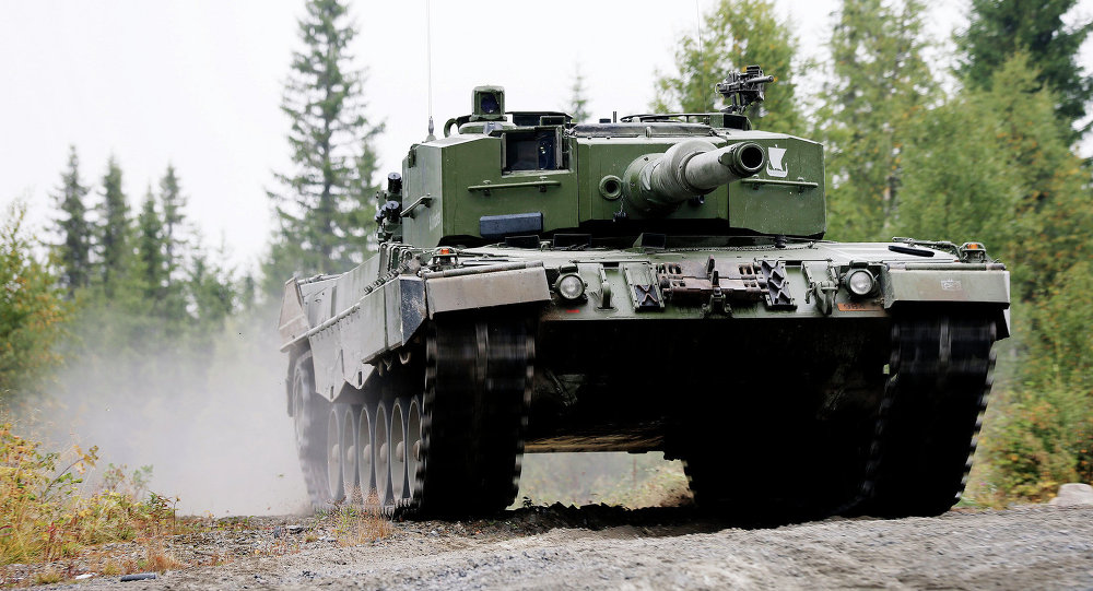 Norwegian Leopard 2 A4 NO Tank