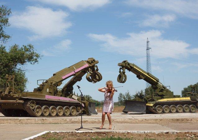 Combat engineer units conduct exercises in Volgograd Region