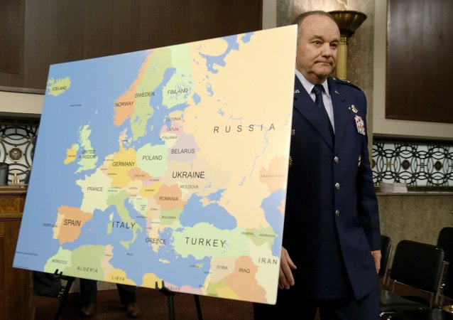 U.S. Air Force Gen. Philip Breedlove, former commander of the U.S. European Command and Supreme Allied Commander for Europe, arrives to testify before a Senate Armed Services Committee hearing on Capitol Hill in Washington, April 30, 2015