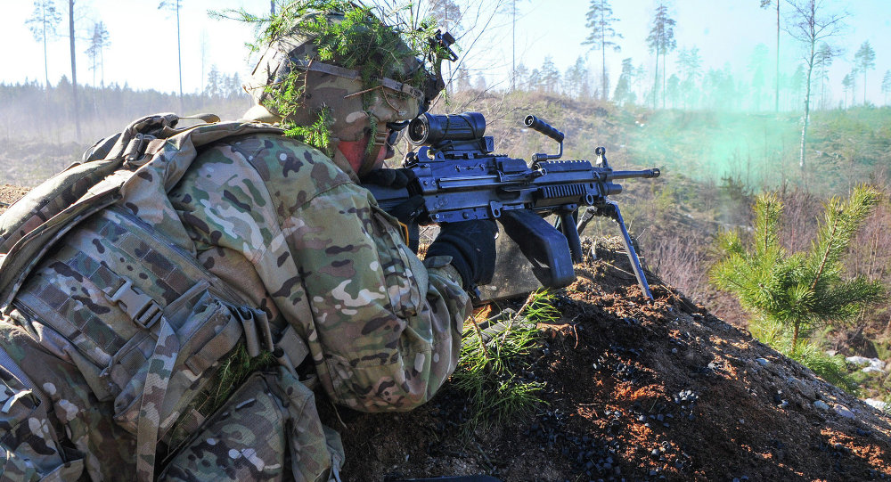March 15, 2015. Operation Atlantic Resolve is a U.S. Army Europe-led land force assurance training mission taking place across Estonia