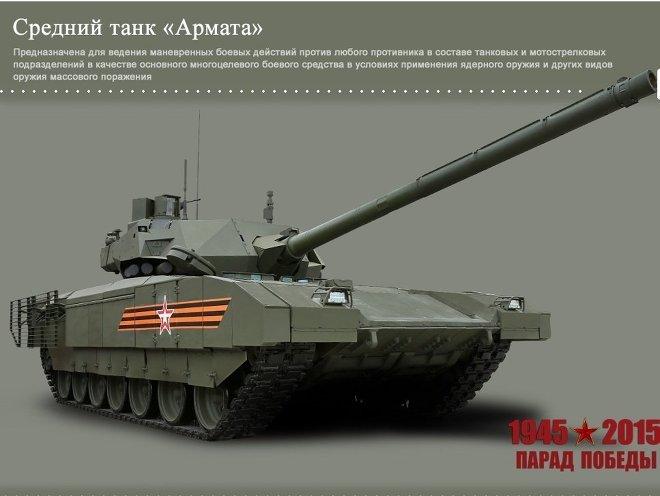 Armata main battle tank