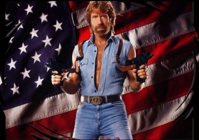 Chuck Norris, man of many talents