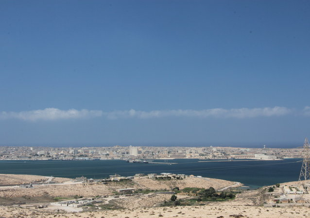 Tobruk port, Libya