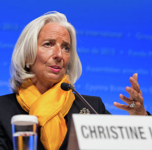 Total debt cancellation for Greece has never been considered, International Monetary Fund (IMF) chief Christine Lagarde said Saturday.