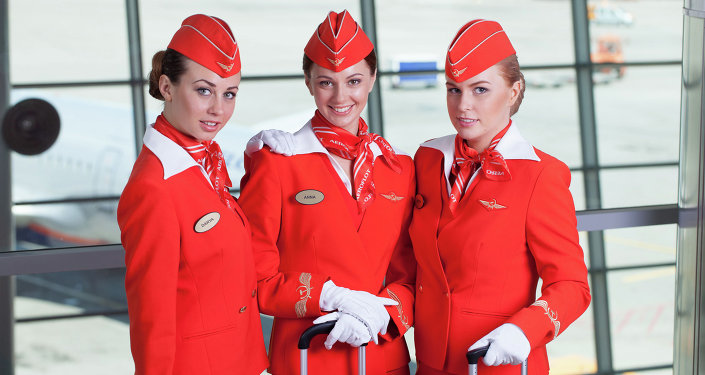 Aeroflot's Stewardesses: The Female Face of Russia's Airline