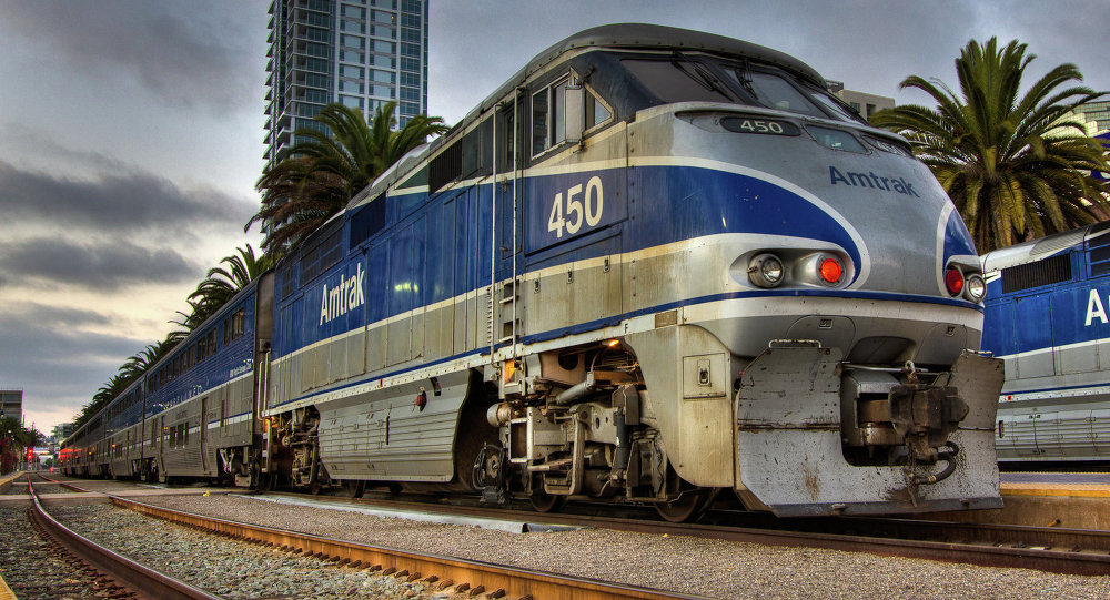 Man in custody after armed standoff aboard Amtrak train