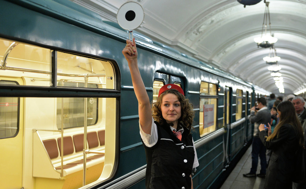 Underground Palace: 80th anniversary of the Moscow Metro