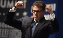 Texas Gov. Rick Perry speaks at the Freedom Summit, Saturday, May 9, 2015, in Greenville, S.C