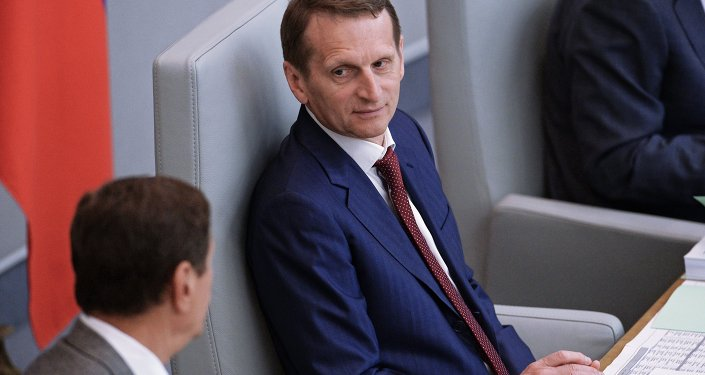 Russian Foreign Intelligence Chief Hopes Incident in Belarus Resolved for Friendly Ties