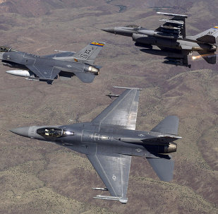 The US Air Force fighter jets