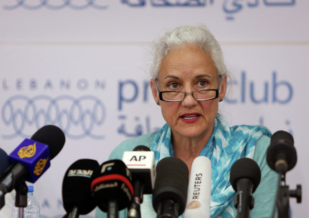 Deborah Tice, mother of American journalist Austin Tice, who is missing in Syria