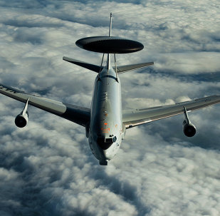 Airborne Warning and Control System (AWACS) aircraft