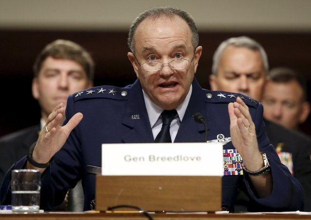 NATO Supreme Allied Commander Europe Philip Breedlove (File).