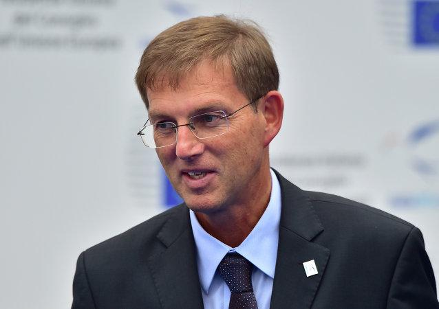 Slovenia's Prime Minister Miroslav Cerar