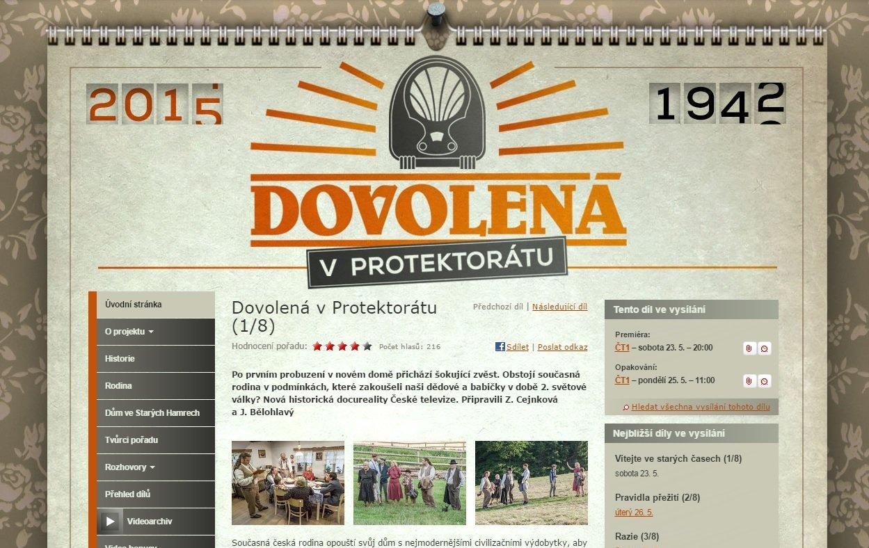 TV-show in the Czech Republic