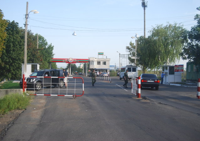 Border between Transnistria and Moldova