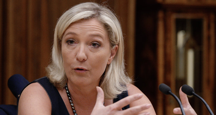 French politician Marine Le Pen