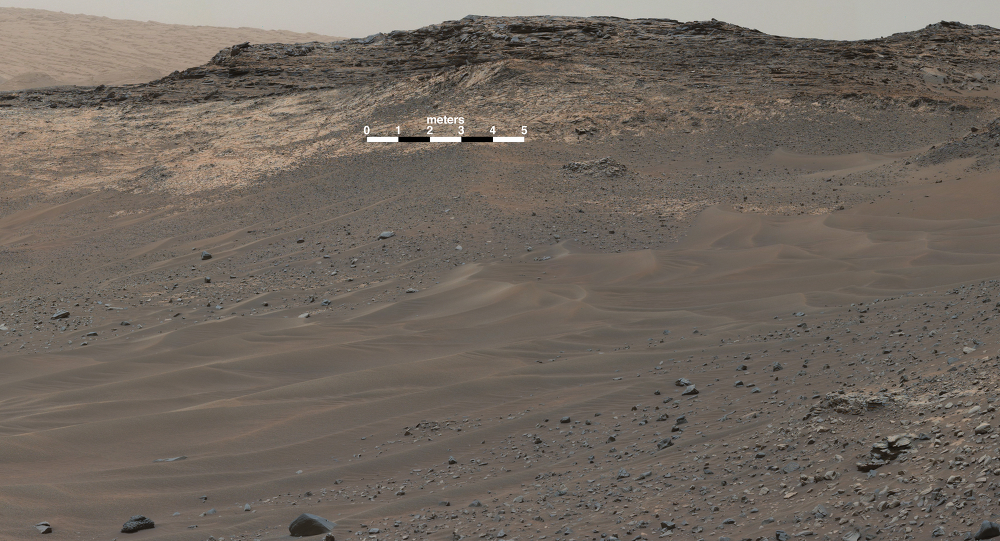 New Panoramic Picture of Mars Taken by Curiosity Rover ...