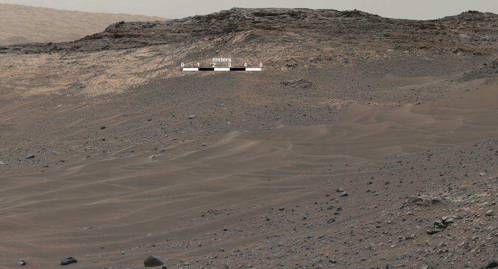 mars surface curiosity panorama - photo #3