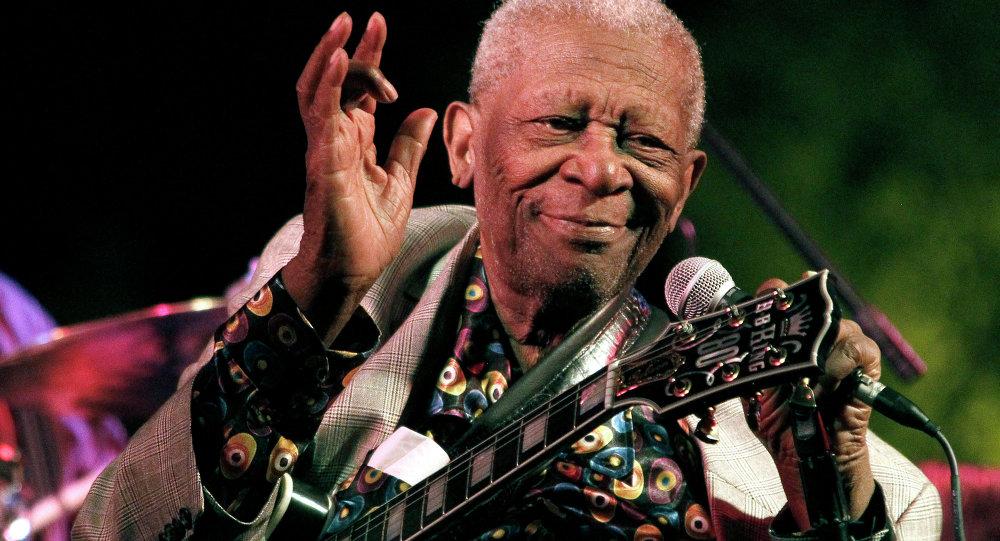 Blues legend BB King