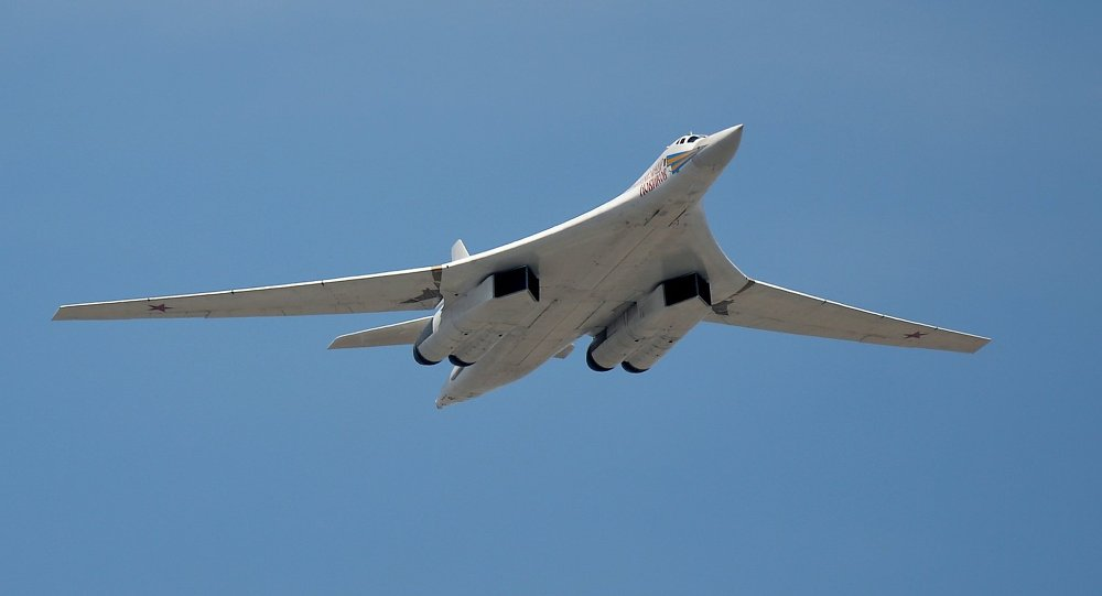 Tupolev Tu-160 Blackjack strategic bomber