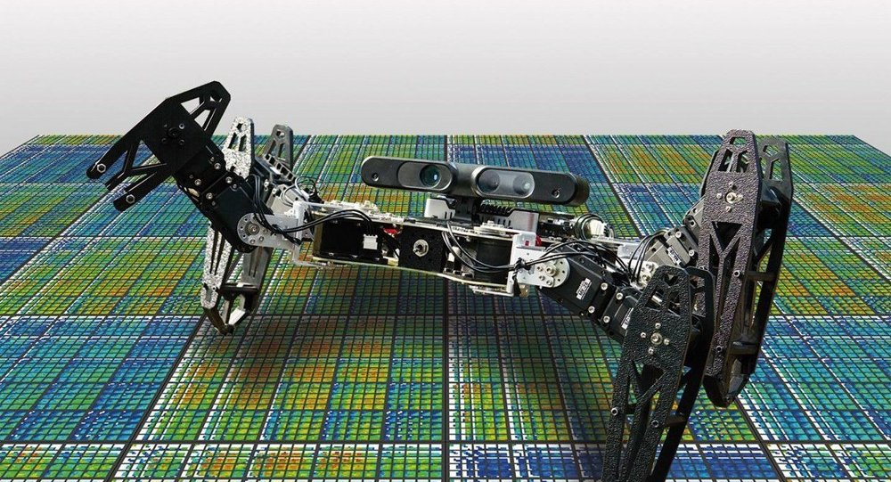 Robots that adapt like animals could heal themselves and continue functioning even after they are damaged.