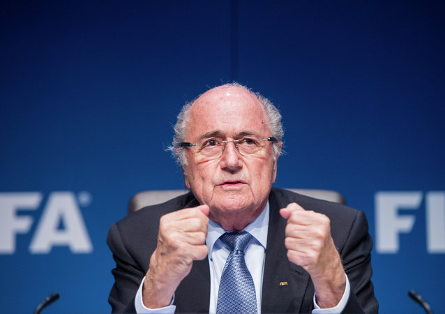 FIFA President Sepp Blatter is up for reelection to his post just one day after seven FIFA officials were arrested on charges of racketeering, bribery and wire fraud.