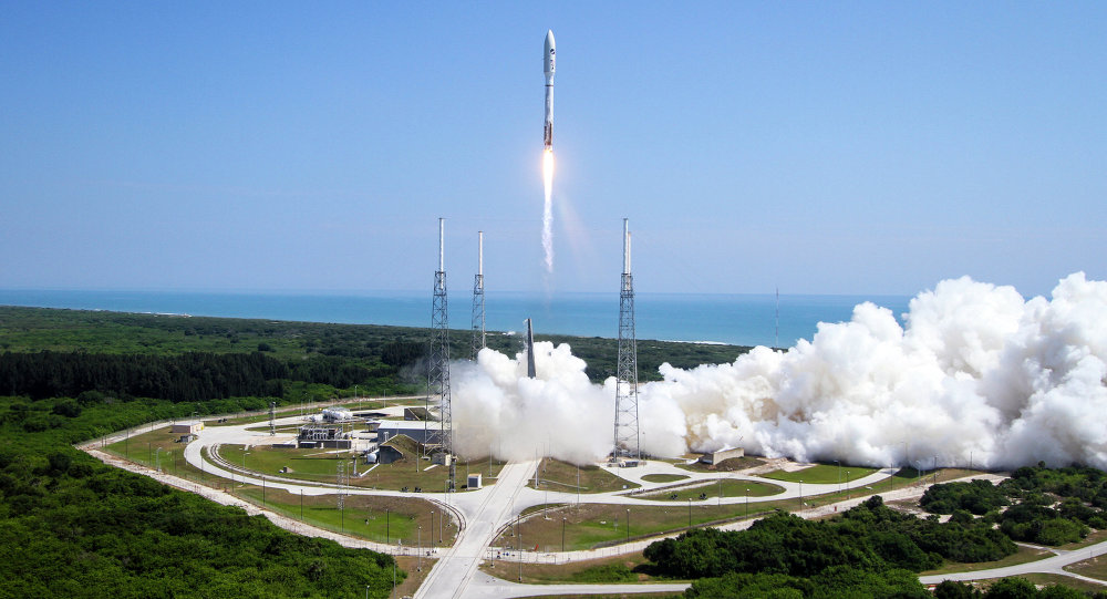 A ULA Atlas V rocket lifts off from Cape Canaveral Air Force Station in Cape Canaveral, Fla. on Wednesday, May 20, 2015.