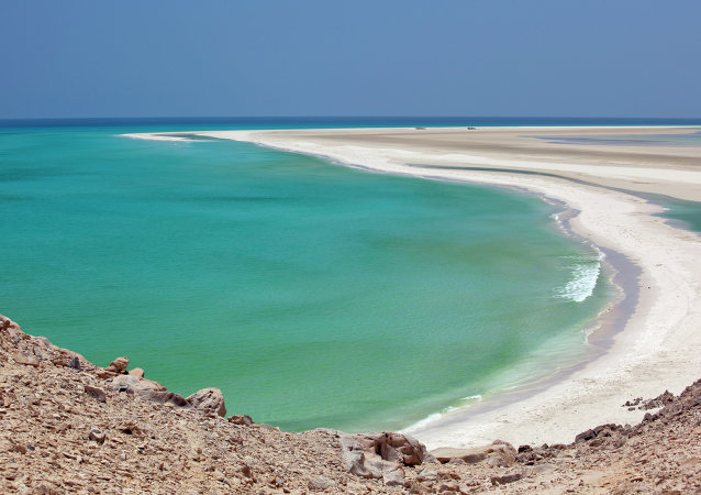 Coastline at Qalansia, Socotra, Yemen