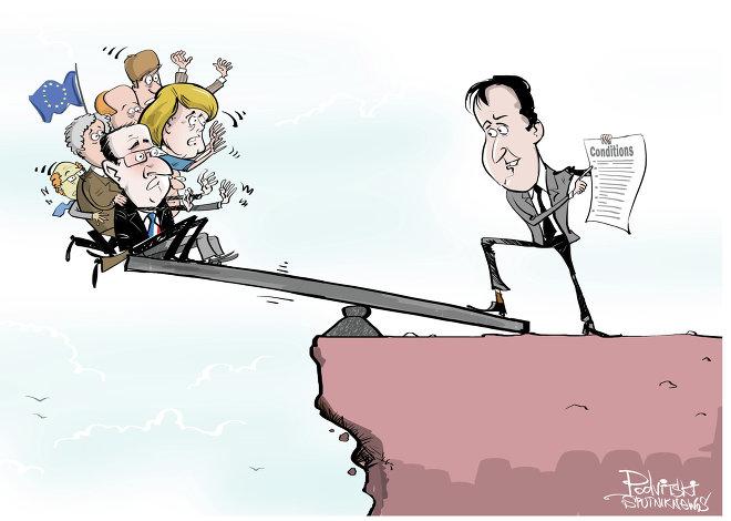 Cameron's Balancing Act