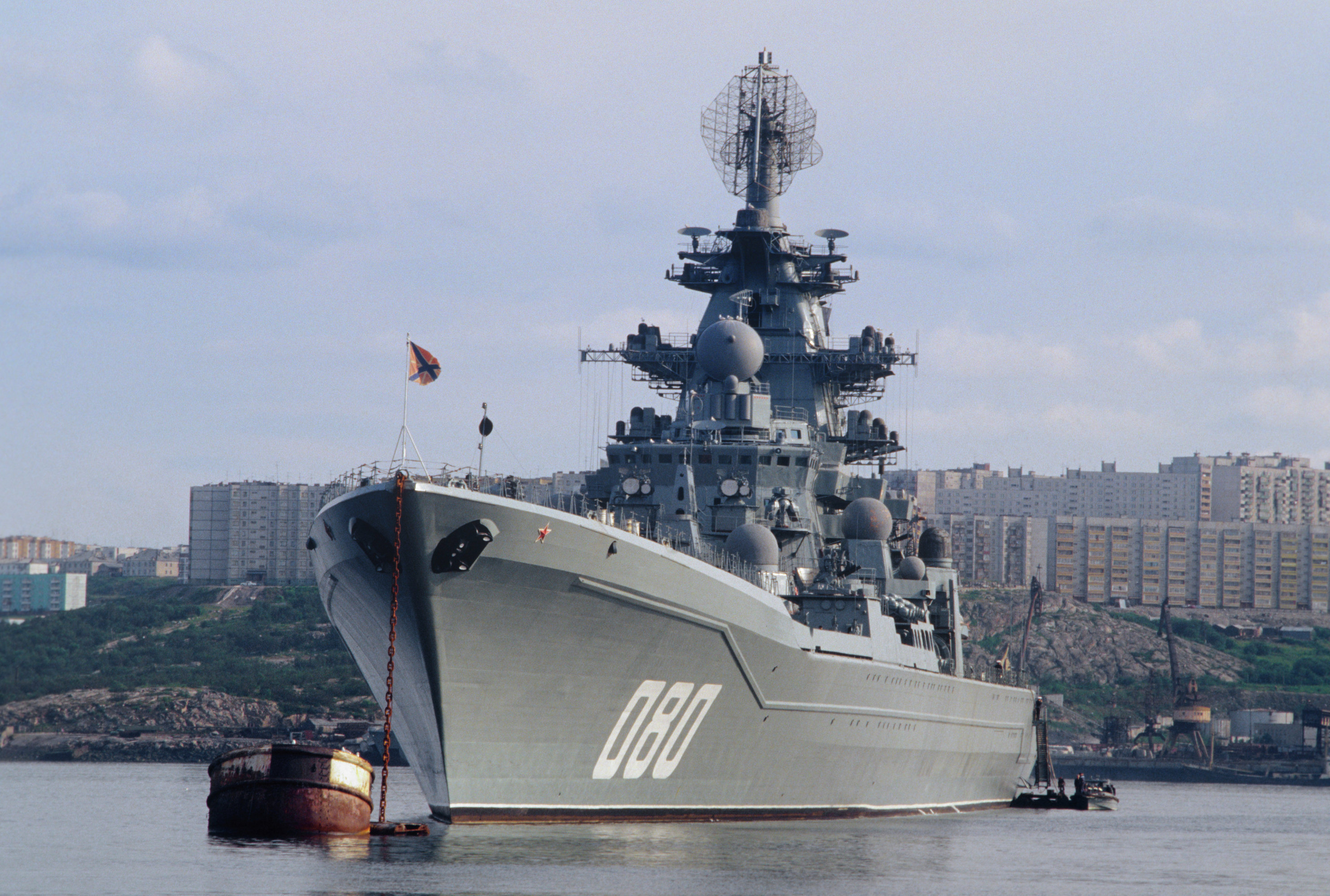 The Admiral Nakhimov nuclear missile cruisers