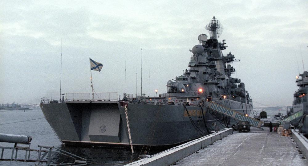 Admiral Nakhimov missile cruiser