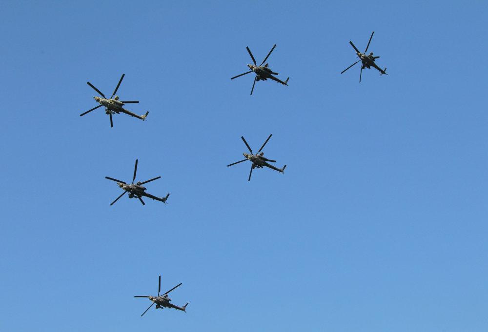 Steel Birds of Prey: Berkuts Aerobatic Team and Their Mi-28 Helicopters