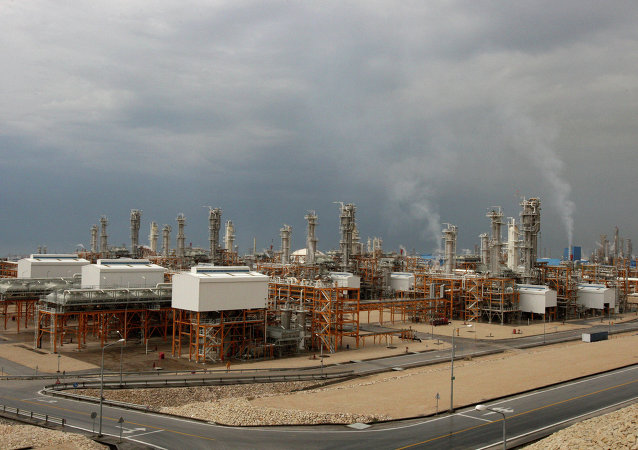 Third gas refinery of South Pars gas field in Assalouyeh, Iran