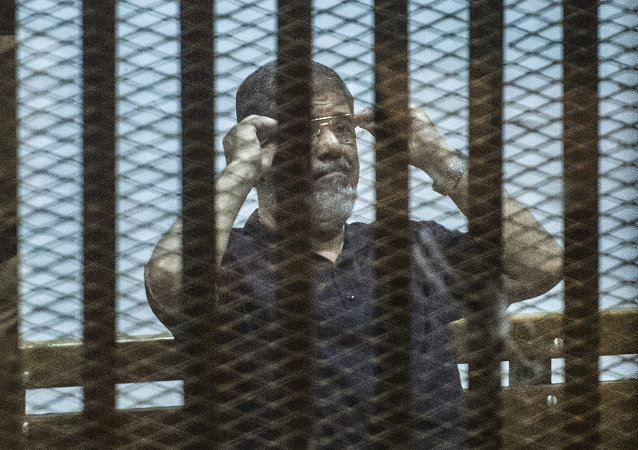 Ousted Egyptian president Mohamed Morsi