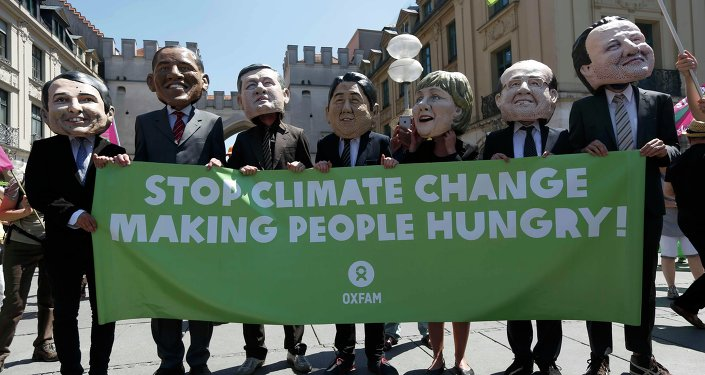 G7 Munich climate change protest