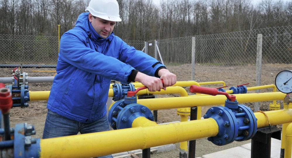 Compression unit of Krekhovskoye natural gas field in Ukraine