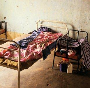 Hospital bed in Mali
