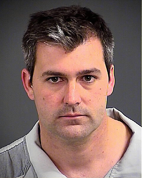 This April 7, 2015 file photo provided by the Charleston County, S.C. Sheriff's Office shows Patrolman Michael Thomas Slager.