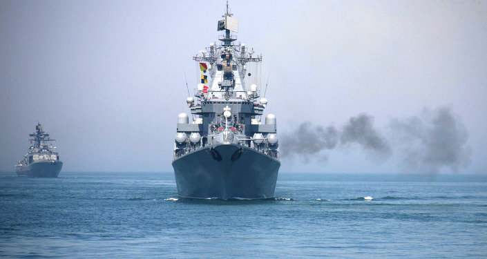 China-Russia joint naval exercise