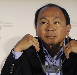 American political economist, chairman of the editorial board of The American Interest and author Francis Fukuyama, attends a conference during the first day of the 2013 Economic Forum in Aix-en-Provence (Rencontres Economiques d'Aix-en-Provence) on July 5, 2013