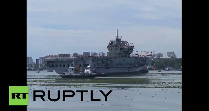 India: First EVER indigenously built INS Vikrant aircraft carrier undocks successfully