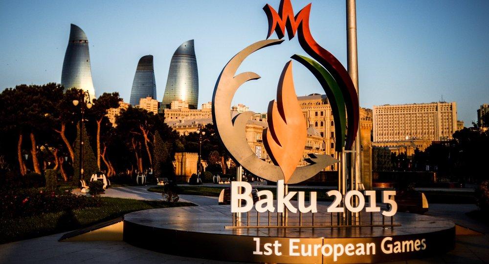 The symbol of the 2015 European Games in Baku