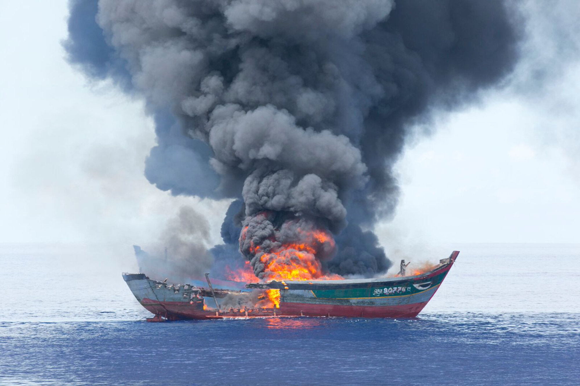 """I think it's necessary to burn the boats."" - President Remengesau"