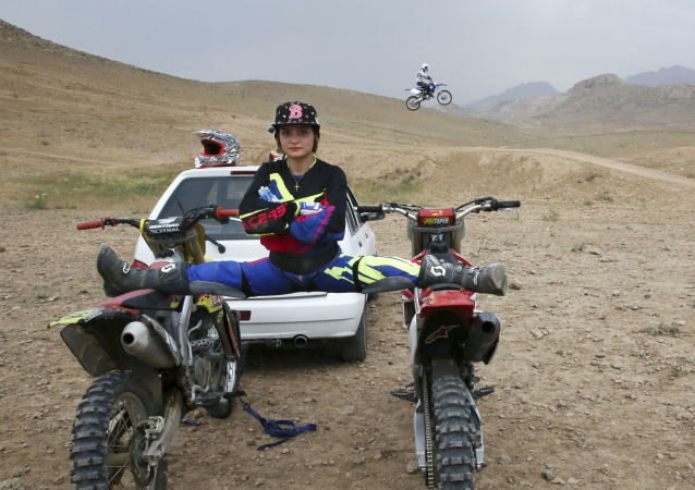 Born to Whizz: Female Iranian Biker Fulfills Her Dreams