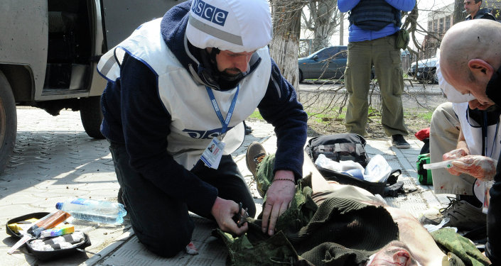 Zvezda TV Channel journalist wounded in Donbass