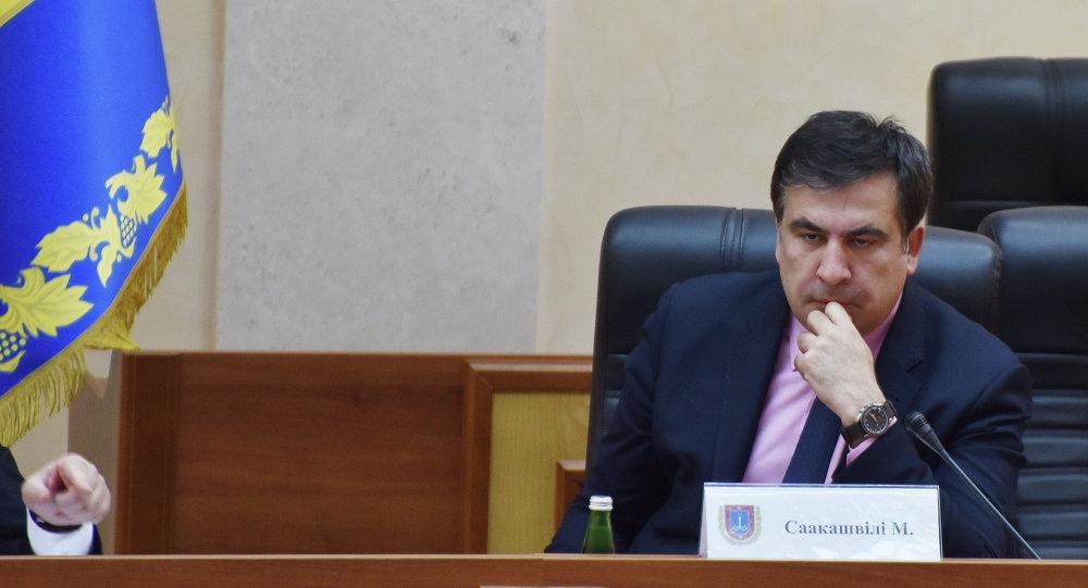 Ukraine's President Poroshenko appoints Saakashvili Governor of Odessa Region