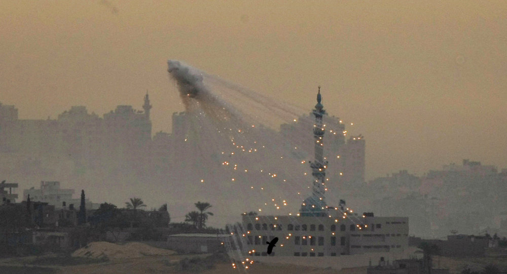 "Agribusiness giant Monsanto - best known for their genetically modified soybeans and ""probably carcinogenic"" herbicide - has supplied the US government with white phosphorous used in incendiary weapons for at least 20 years, and some of that made its way to Israel for use in Operation Cast Lead."